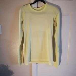 Lululemon Swifty Long Sleeve Top Sz 10